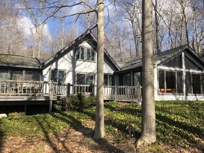 Pocono Lake Single Family Home For Sale: 1265 Ranger Trail (Lakefront)