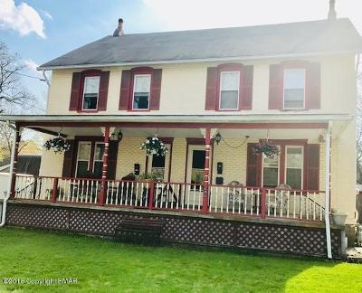 East Stroudsburg Multi Family Home For Sale: 243 Willow St