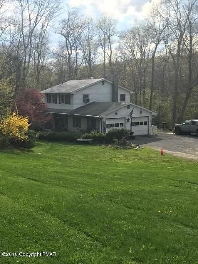 East Stroudsburg Single Family Home For Sale: 66 Bull Pine Rd