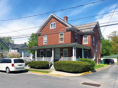 Stroudsburg Multi Family Home For Sale: 112 S 8th St