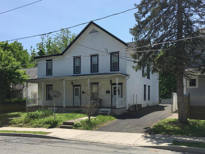 East Stroudsburg Multi Family Home For Sale: 183 Grove St