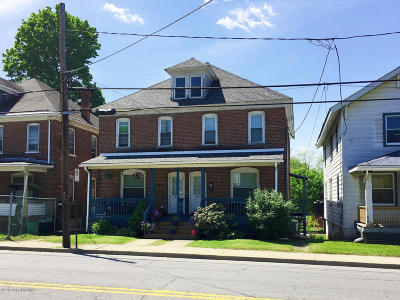 East Stroudsburg Multi Family Home For Sale: 493 N Courtland St