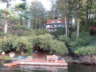 Lake Harmony Single Family Home For Sale: 206 S Lake Dr
