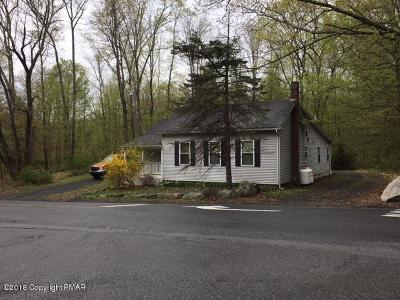 Tannersville Single Family Home For Sale: 1424 Sullivan Trl