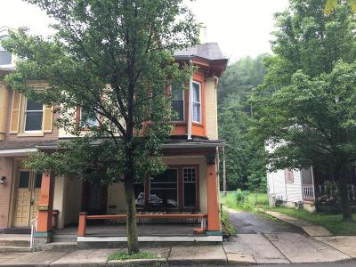Jim Thorpe Single Family Home For Sale: 145 Broadway