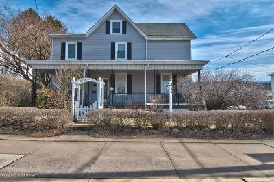 Jim Thorpe Single Family Home For Sale: 504 North St