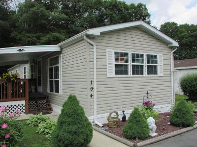 Stroudsburg PA Single Family Home For Sale: $55,000