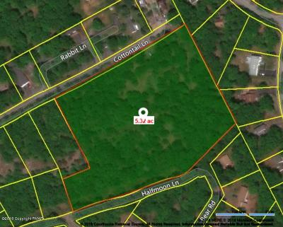 East Stroudsburg Residential Lots & Land For Sale: 7442 Cottontail Ln