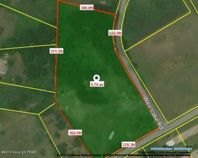 Saylorsburg Residential Lots & Land For Sale: Weir Lk