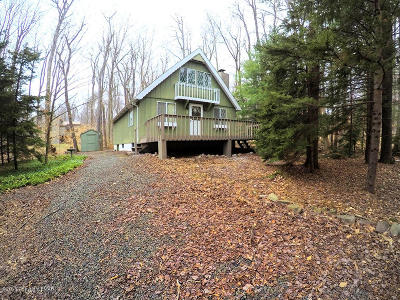 Pocono Pines PA Single Family Home For Sale: $139,000