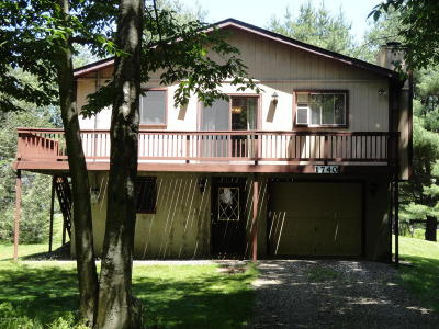 Tobyhanna PA Single Family Home For Sale: $74,900