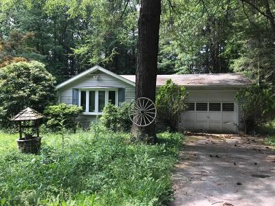 Kunkletown PA Single Family Home For Sale: $135,000