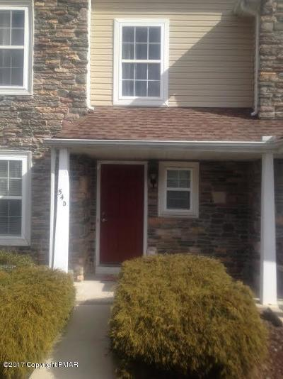 East Stroudsburg Single Family Home For Sale: 54D Lower Ridge View Cir
