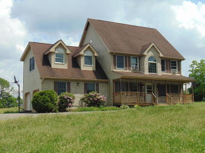 Brodheadsville Single Family Home For Sale: 1280 Bunny Ln