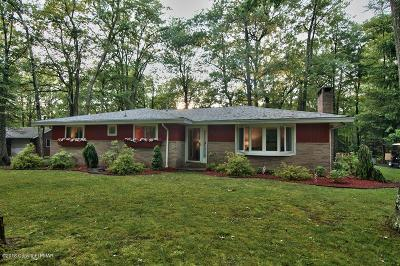 Lake Harmony Single Family Home For Sale: 119 Crest Dr