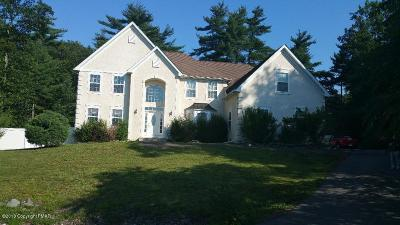 East Stroudsburg Single Family Home For Sale: 6113 High Point Pt