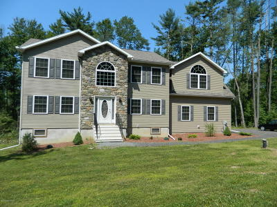 Stroudsburg Single Family Home For Sale: 5038 Custard Rd