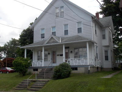 Jim Thorpe Single Family Home For Sale: 826 Center St