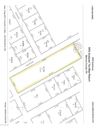 Mount Pocono Residential Lots & Land For Sale: Hickory St