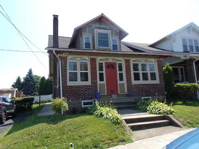 Lehigh County, Northampton County Single Family Home For Sale: 632 Davis St