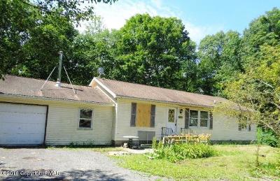East Stroudsburg Single Family Home For Sale: 340 fka 36 Carnation Rd