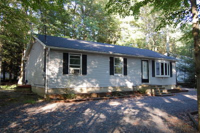 Pocono Summit Single Family Home For Sale: 1134 Thunder Dr
