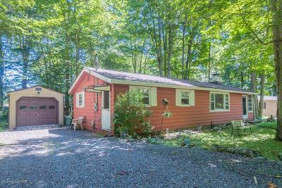 Pocono Lake PA Single Family Home For Sale: $79,900