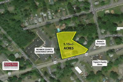 Stroudsburg Commercial For Sale: 1960 W Main St