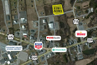 Brodheadsville Commercial For Sale: Firehouse Ln