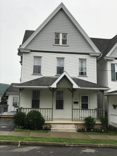 Jim Thorpe Single Family Home For Sale: 43 W Fifth St