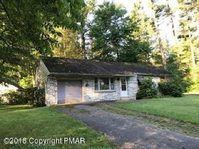 Stroudsburg Single Family Home For Sale: 235 Tanite Rd