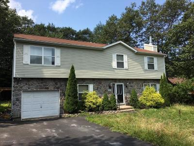 Mount Pocono PA Single Family Home For Sale: $159,900