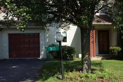 Saylorsburg Single Family Home For Sale: 233 E Windsor Rd