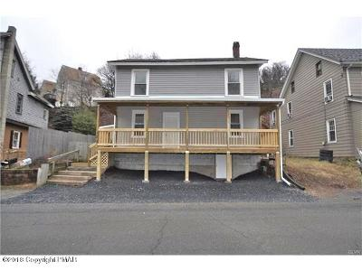 Palmerton Single Family Home For Sale: 120 Red Hill Drive