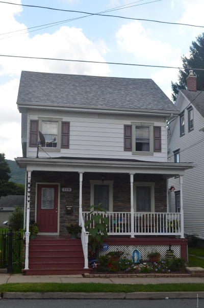 Jim Thorpe Single Family Home For Sale: 514 North St