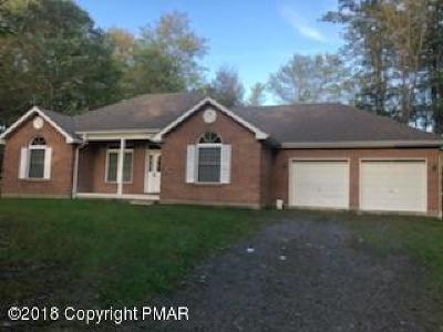 Pocono Summit Single Family Home For Sale: 220 Stillwater Dr