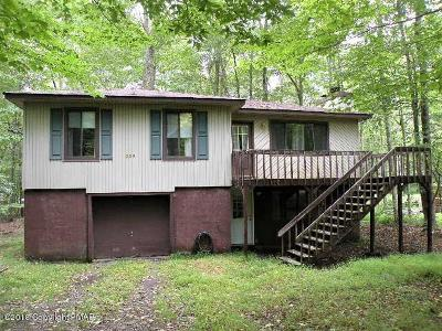 Pocono Lake PA Single Family Home For Sale: $119,900