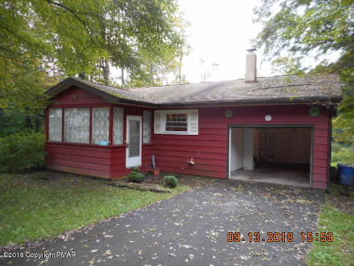 Pocono Lake PA Single Family Home For Sale: $74,900