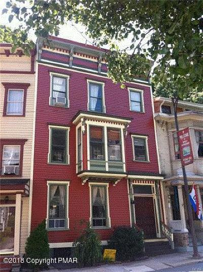 Jim Thorpe Multi Family Home For Sale: 29 W Broadway