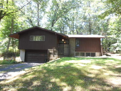 Stroudsburg Single Family Home For Sale: 2224 Ramegwa Ridge Rd