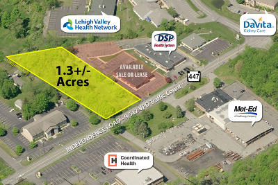 East Stroudsburg Commercial For Sale: Lot #4 Independence Rd