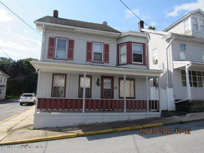 Jim Thorpe Multi Family Home For Sale: 101 Center Ave
