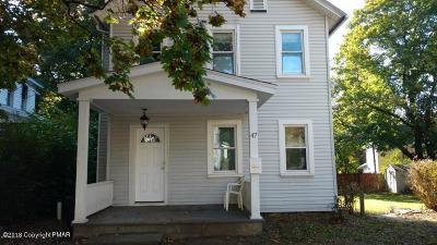 East Stroudsburg Single Family Home For Sale: 47 E Broad St