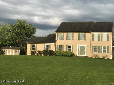 Kunkletown Single Family Home For Sale: 109 Woodridge Rd