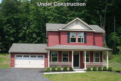 East Stroudsburg Single Family Home For Sale: Lot 3 Cherry Wood Ct