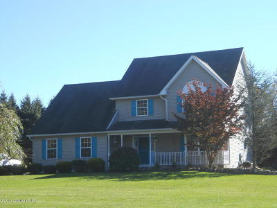 Kunkletown Single Family Home For Sale: 135 Murphy Ln
