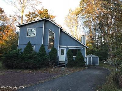 Tobyhanna PA Single Family Home For Sale: $64,000