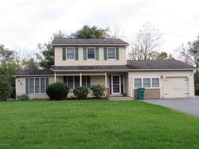 Stroudsburg Rental For Rent: 893 Polk Valley Rd