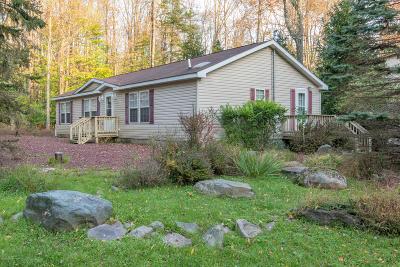Pocono Lake PA Single Family Home For Sale: $130,000