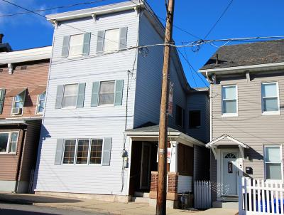 Jim Thorpe Single Family Home For Sale: 224 Center Ave